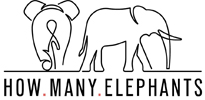 How Many Elephants | Anti Poaching Awareness Campaign | UK Charity Logo